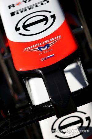 Marussia F1 Takımı ön kanat