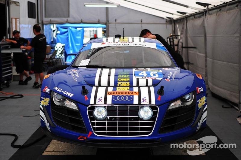 #46 Fall-Line Motorsports 奥迪 R8 LMS: 查尔斯·帕特南, 查尔斯·埃斯彭劳布, 克里斯托弗·米斯