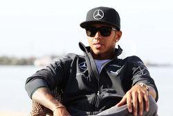 Lewis Hamilton, Mercedes AMG F1 sahilde