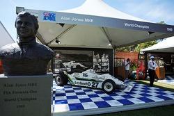 关于1980年世界冠军阿兰·琼斯的展览(AUS)