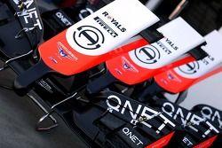Marussia F1 Takımı ön kanat 13