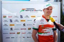 Nico Hulkenberg, Sahara Force India F1 ve medya