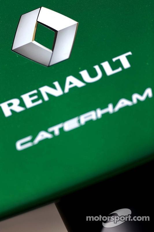 Caterham F1 Team, Renault 13.03.2014. Mundial de Formula 1 - 1ª corrida, GP da Austrália, Albert Park, Melbourne, Austrália, dia de preparação - www.xpbimages.com, EMail: requests@xpbimages.com - cópia requerida para imagens impressas