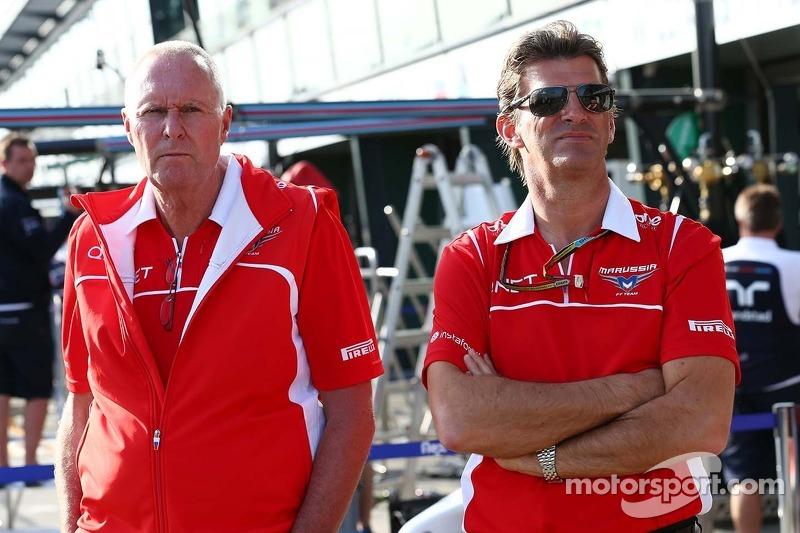 John Booth, Marussia F1 Team, Team Principal con Graeme Lowdon, Amministratore delegato Marussia F1 Team