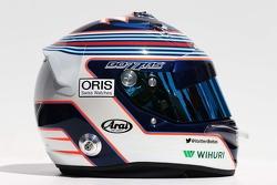 Casque de Valtteri Bottas, Williams