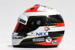 头盔:阿德里安·苏蒂尔, 索伯车队