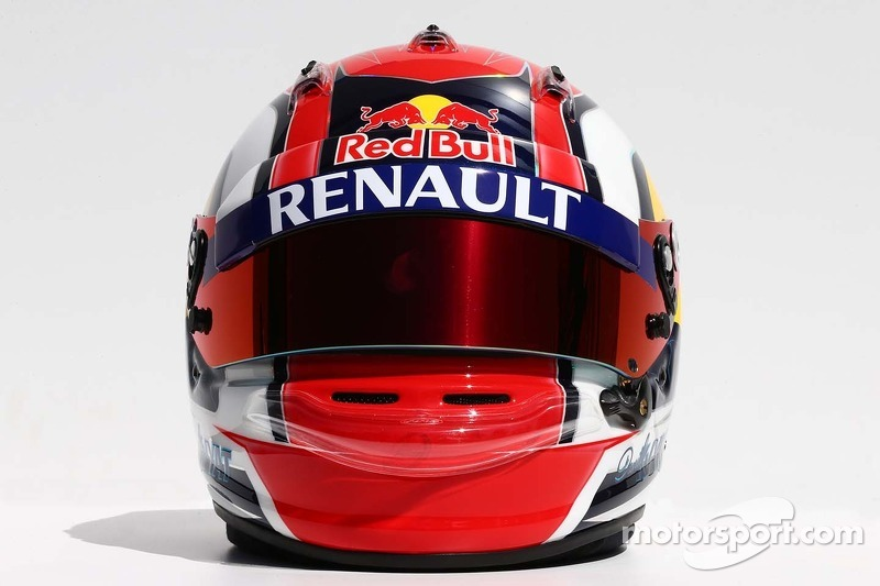 Il casco di Daniil Kvyat, Scuderia Toro Rosso