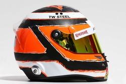 Casque de Nico Hulkenberg, Sahara Force India F1