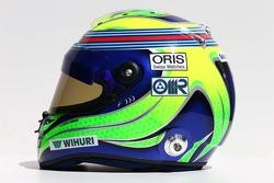 Casque de Felipe Massa, Williams