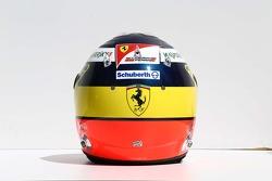 The helmet of Pedro De La Rosa, Ferrari Development Driver