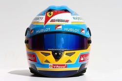 Casque de Fernando Alonso, Ferrari