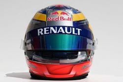 Casque de Jean-Eric Vergne, Scuderia Toro Rosso