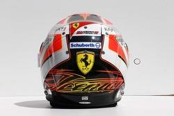 Casque de Kimi Raikkonen, Ferrari