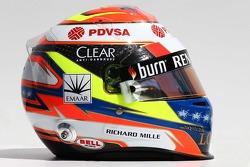 Casque de Pastor Maldonado, Lotus F1 Team