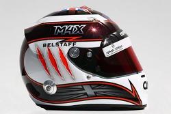Casque de Max Chilton, Marussia F1 Team
