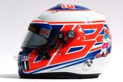 Casque de Jenson Button, McLaren