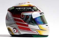 Casque de Lewis Hamilton, Mercedes AMG F1