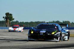 #555 AIM Autosport Ferrari 458 Italia: Townsend Bell, Bill Sweedler