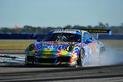 #13 Rum Bum Racing / Snow Racing Porsche 911 GT Amerika: Madison Snow, Jan Heylen, Matt Plumb