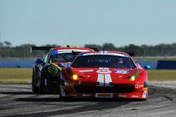 #63 Scuderia Corsa Ferrari 458 Italia: Alessandro Balzan, Jeff Westphal, Stefan Johansson, Lorenzo C