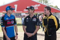 Mark Winterbottom, Craig Lowndes e James Moffat