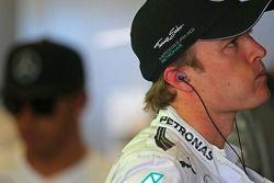 Nico Rosberg, Mercedes AMG F1 ve Lewis Hamilton, Mercedes AMG F1