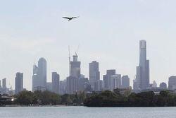 Melbourne silüeti