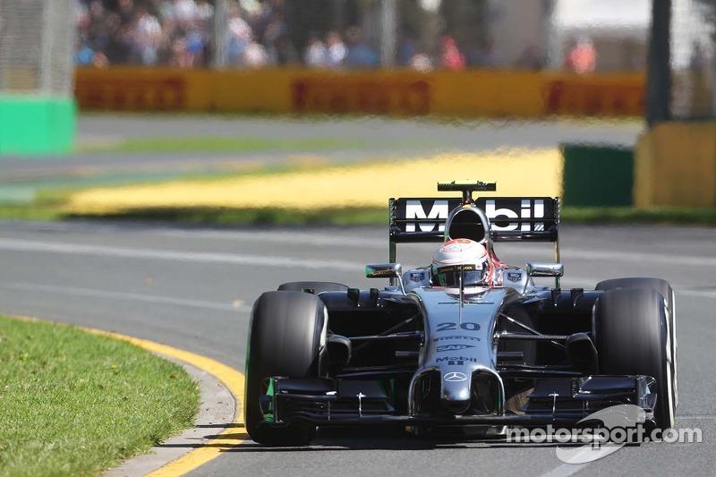 Kevin Magnussen: Grand Prix von Australien 2014