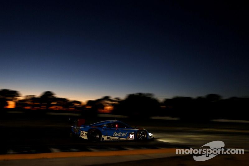 #01 Chip Ganassi Racing Riley DP Ford EcoBoost: Scott Pruett, Memo Rojas, Marino Franchitti