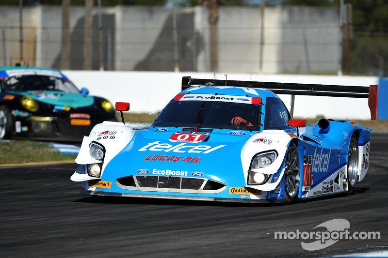 #01 Chip Ganassi Racing Riley DP 福特 EcoBoost: 斯科特·普鲁厄特, 梅莫·罗哈斯, 马里诺·弗兰奇蒂