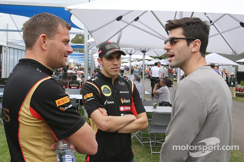 Pastor Maldonado, Lotus F1 Team and Jaime Alguersuari (ESP)