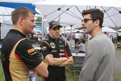 Pastor Maldonado, Lotus F1 Takımı ve Jaime Alguersuari