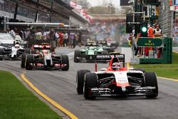 Max Chilton, Marussia F1 Takımı MR03 pitten ayrılıyor