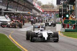 Valtteri Bottas, Williams FW36, verlaat de pits