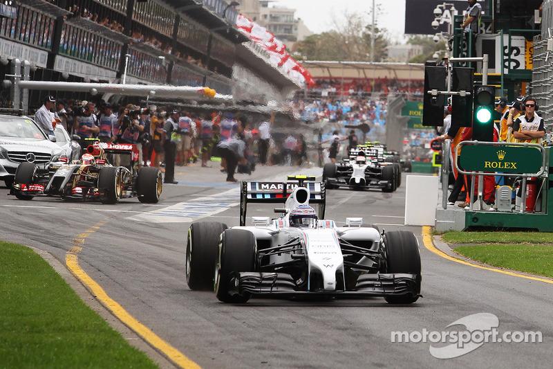 Valtteri Bottas, Williams FW36 pitten ayrılıyor