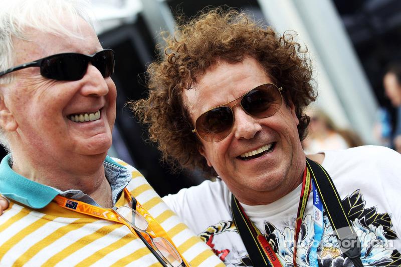 (L to R): John Watson, with Leo Sayer