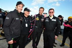Simon Pagenaud, HPD 本田, Jacques Nicolet, OAK车队和Philippe Dumas, OAK车队