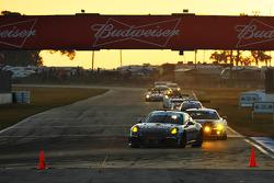 #44 Magnus Racing Porsche 911 GT America Porsche: John Potter, Andy Lally, Marco Seefried