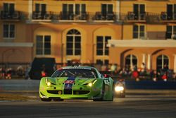#57 Krohn Racing Ferrari F458 Italia: Nic Jonsson, Tracy Krohn, Andrea Bertolini