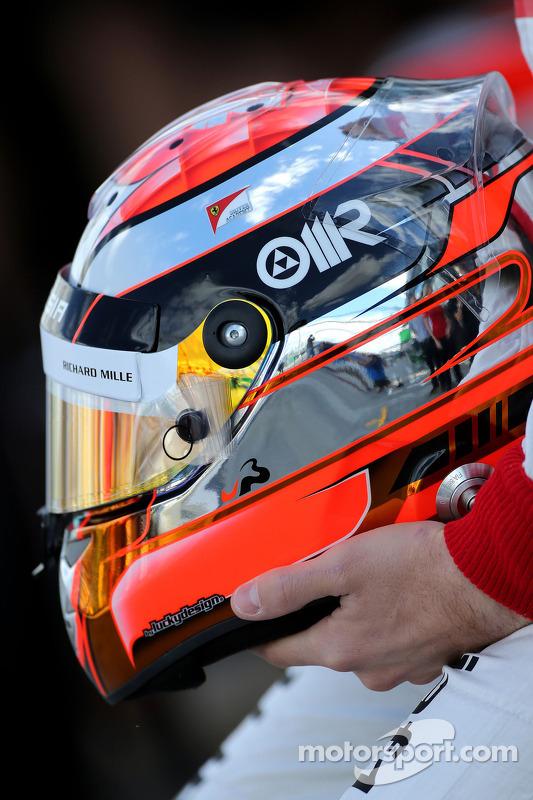 Capacete de ules Bianchi, Marussia F1 Team