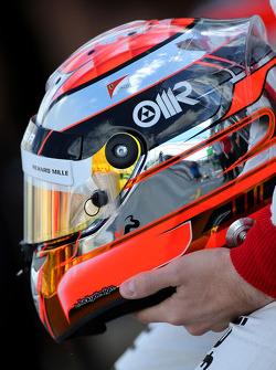 Casco di Jules Bianchi, Marussia F1 Team