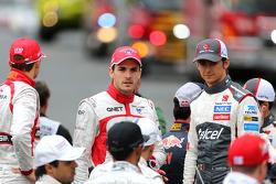 Esteban Gutierrez, Sauber F1 Team ; Jules Bianchi, Marussia F1 Team