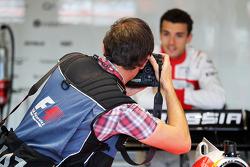 Jules Bianchi, Marussia F1 Team fotografato da Russell Batchelor, XPB immagini Photographer