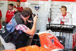 Max Chilton, Marussia F1 Team, gefotografeerd door Russell Batchelor, XPB Images-fotograaf