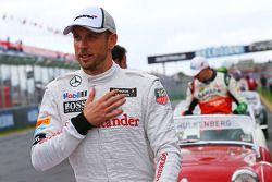 Jenson Button, McLaren pilot geçiş töreninde