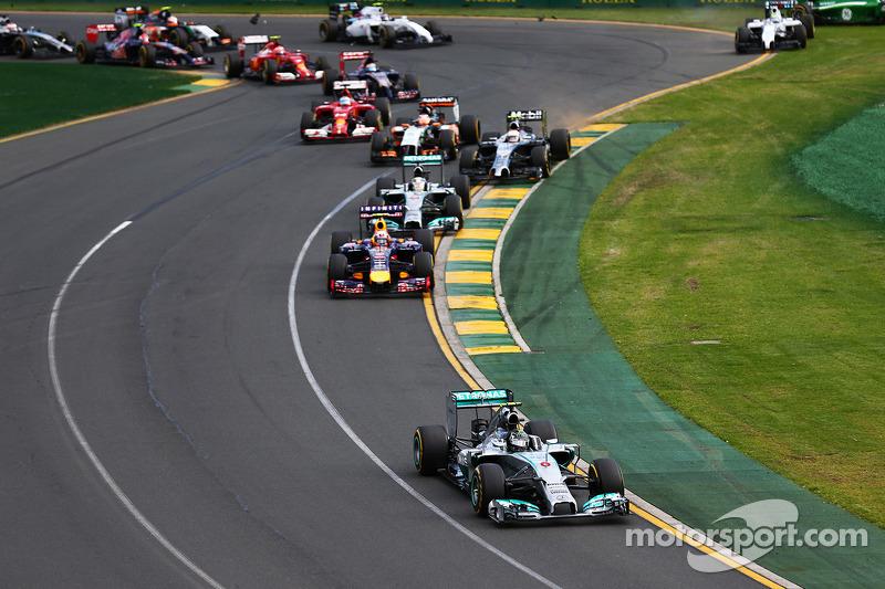Arranca la era turbo híbrida de la F1