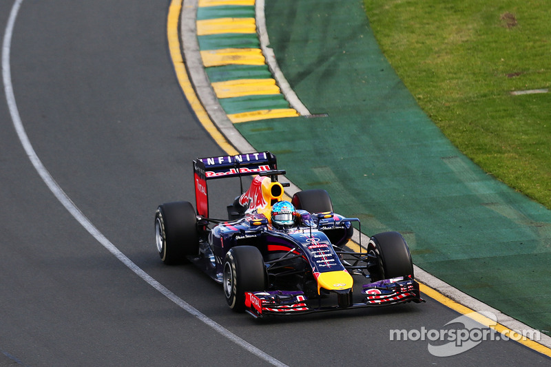 2014 - Grand Prix von Australien: Sebastian Vettel, Red Bull Racing RB10