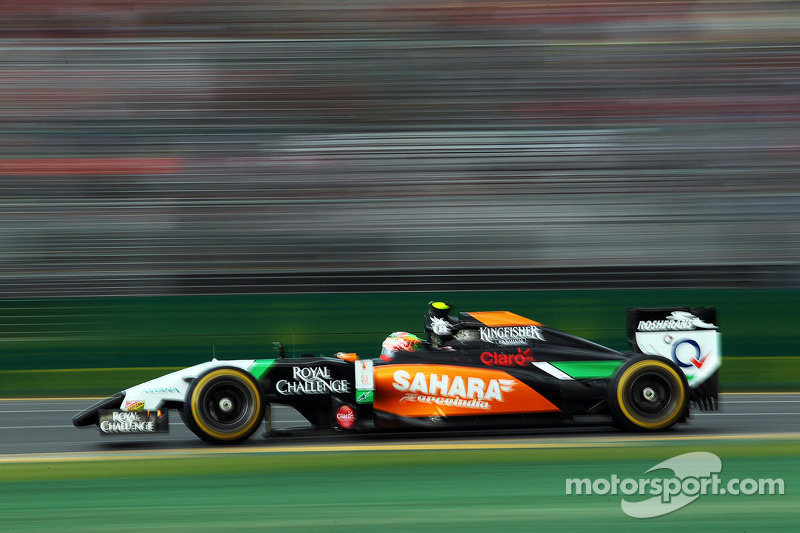 Primer punto con Sahara Force India, GP de Australia 2014