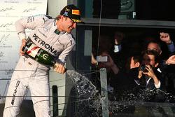 1ère place : Nico Rosberg, Mercedes AMG F1 W05