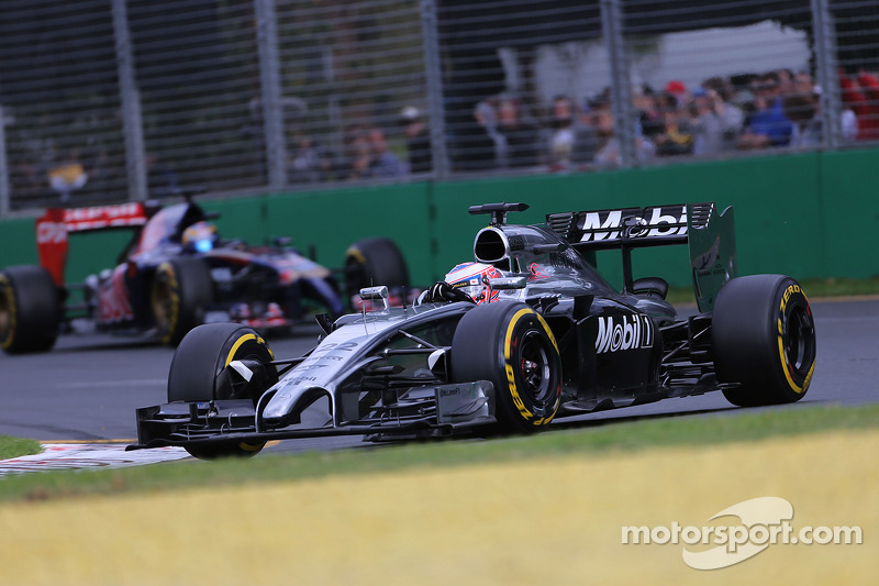 Jenson Button, McLaren F1 Team 16